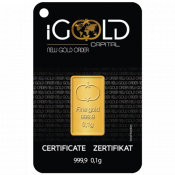 Goldbarren IGR (0)