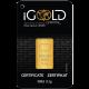 Goldbarren IGR