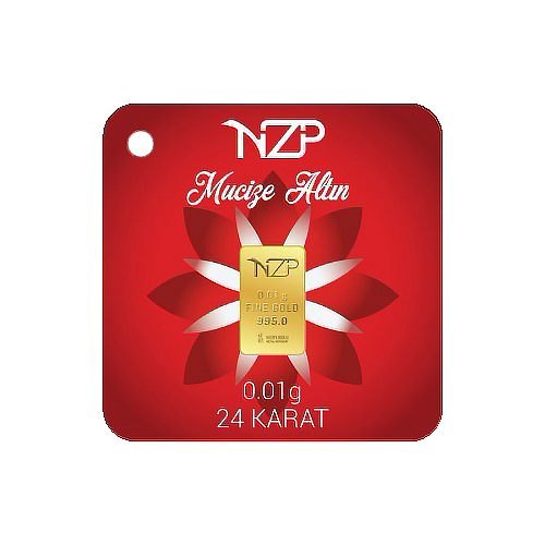 Nzp Gold Mini Goldbarren 0.01 Gramm (995 24 Karat)