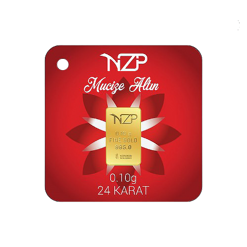 Nzp Gold Mini Goldbarren 0.10 Gramm (995 24 Karat)