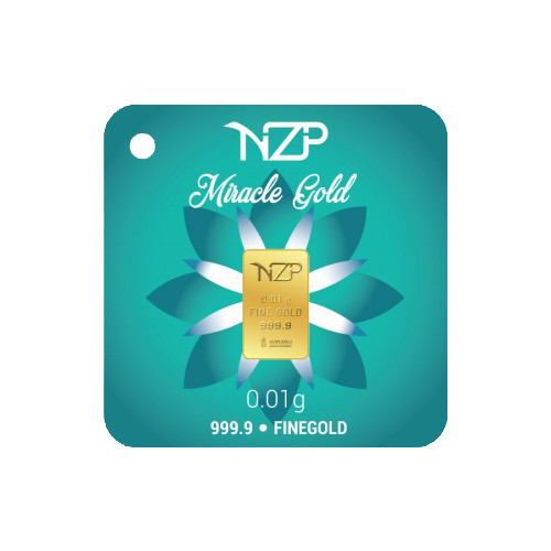 Nzp Gold Mini Goldbarren 0,01 Gramm
