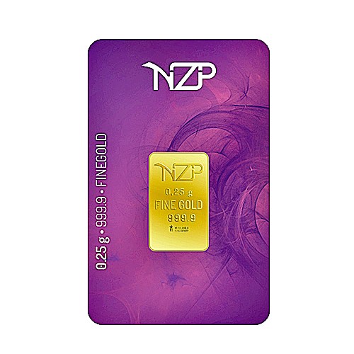 Nzp Gold Goldbarren 0,25 Gramm