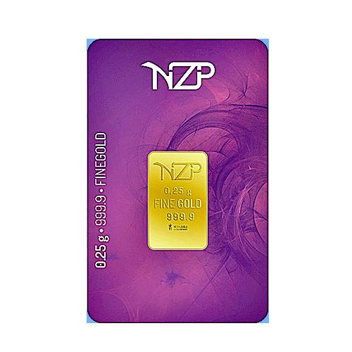 Nzp Gold Goldbarren 0,25 Gramm