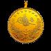 Resat Gold 100 Piaster Kurush Mit Öse / Resat Tam Altin Kulplu