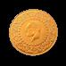 Ziynet Gold 25 Piaster Kurush / Ziynet Ceyrek Altin