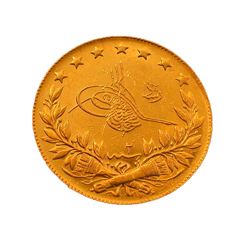 Resat Gold 100 Piaster Kurush / Resat Tam Altin