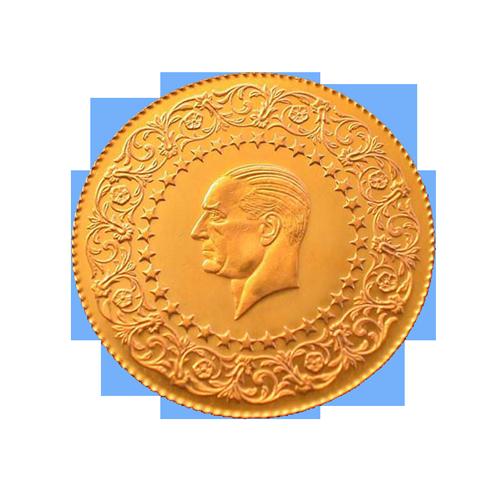 Ziynet Gold 50 Piaster Kurush / Ziynet Yarim Altin